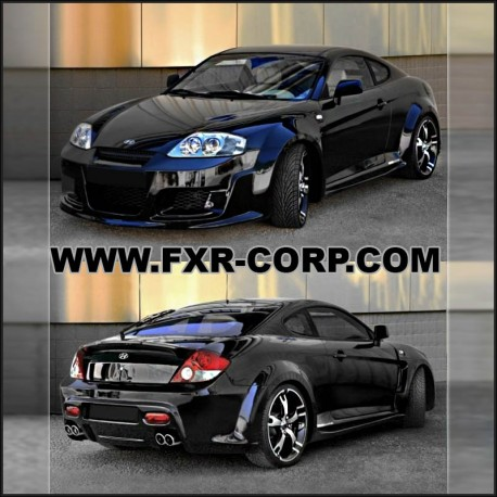 OUTLAW - EXTENSIONS D'AILES HYUNDAI COUPE 02-07