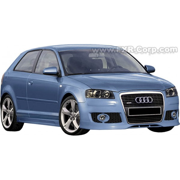 pare choc avant tuning audi a3 8p type s3 line. Black Bedroom Furniture Sets. Home Design Ideas