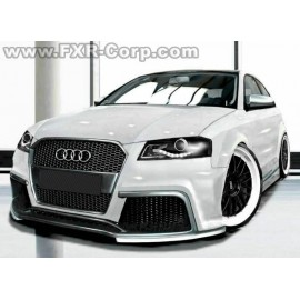 Pare-choc avant A3 8P look Audi TT RS