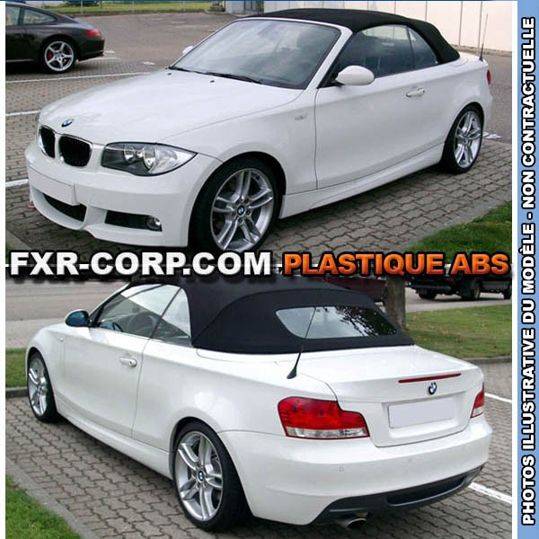 kit pack m plastique abs pour bmw serie 1 coupe cabriolet. Black Bedroom Furniture Sets. Home Design Ideas