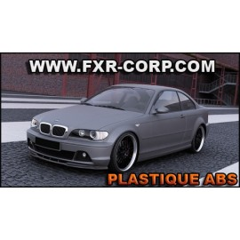 LIP - Lame de pare-choc avant BMW E46 COUPE FACELIFT