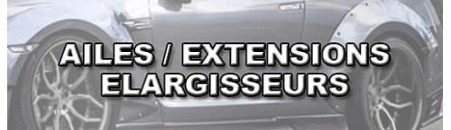 Ailes et élargisseurs E36