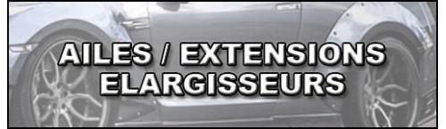 Ailes et élargisseurs BMW E92 - E93
