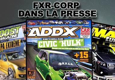 FXR DANS LA PRESSE MAGAZINE TUNING